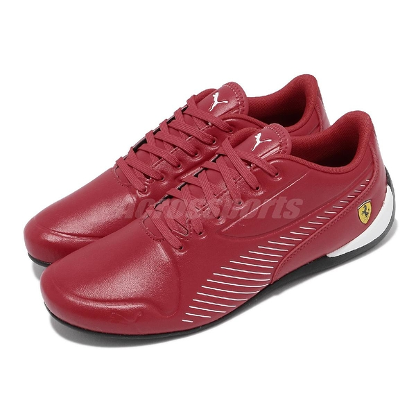 【海外限定】Puma 休閒鞋 SF Drift Cat 7S Ultra 紅 白 賽車鞋 法拉利 男鞋 【ACS】 30642404