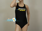 *日光部屋* arena (公司貨)/ JMS-6412WJ-BLK 大女童連身泳裝(R140/R150)