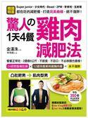 驚人的1天4餐雞肉減肥法:餐餐正常吃,2週瘦8公斤,不節食、不忌口,不必挨餓也會瘦!
