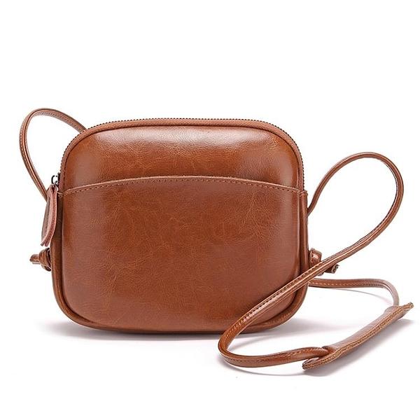 現貨-側背包小包包女潮韓版百搭夏天簡約單肩斜背包迷你夏季真皮女包3/20 特惠上市