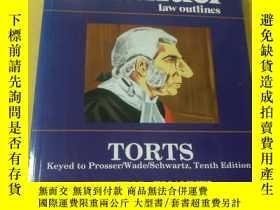 二手書博民逛書店Torts罕見( Emanuel Law Outlines)Y18060 Steven Emanuel Asp