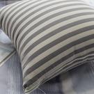 限量 抱枕  Line灰黑線條  磨毛材質 抱枕   枕芯超飽滿 台灣製