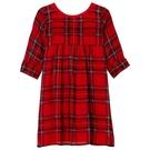 洋裝 I Love Gorgeous 格紋反摺長袖洋裝-紅色 AW14FC58RD