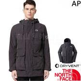The North Face 3CI6-ZLY黑灰 TNF男防風防水外套 戶外機能風衣/軍裝風 運動夾克/透氣衝鋒衣