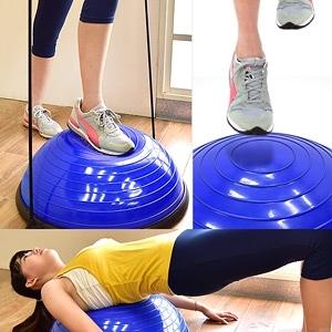 半圓平衡球有氧階梯踏板+彈力繩.半圓球波速球博速球.健身球抗力球韻律球.有氧踏板韻律踏板