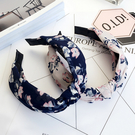 日韓系甜美髮箍 時尚優雅打結布藝 寬邊髮箍(共15款)