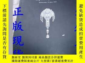 二手書博民逛書店CHRISTIES罕見LONDON Important Jewe