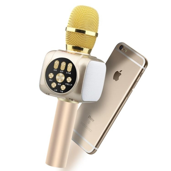 夏新全民K歌神器手機麥克風無線藍牙話筒自帶音響一體掌上KTV家用電視通用全名唱