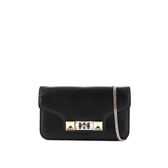 【PROENZA SCHOULER】PS11系列長夾式鏈帶斜背手拿包(黑色(BLACK) S00027 C039A 0000