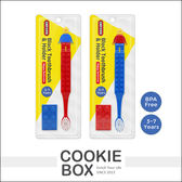 韓國 OXFORD 樂高 積木 兒童 牙刷 (紅藍) 牙齒 預防蛀牙 3歲以上 幼兒牙刷 *餅乾盒子*