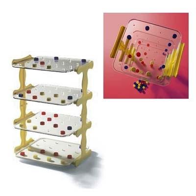 【華森葳兒童教玩具】益智邏輯系列-立體連線賓果 N4-IV048-C003