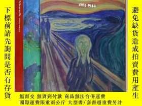 二手書博民逛書店罕見Edvard Munch 1863-1944 愛德華 蒙克