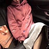 冠軍衛衣女2021秋季新款韓版連帽套頭上衣cec寬鬆刺繡情侶外套潮 米娜小鋪