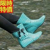 短筒雨靴-韓版內增高可愛點點女雨鞋3色66ak35【時尚巴黎】