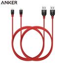 耀您館(2條)Anker PowerLine+編織180cm蘋果Lightning數據充電線Apple電源線iPhone iPad 5 6 7 8 x + SE plus B8122091