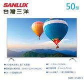 【佳麗寶】-(台灣三洋SANLUX)50型4K電視 /SMT-50MF1(含視訊盒)