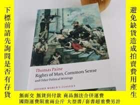 二手書博民逛書店Rights罕見of Man, Common Sense, and Other Political Writing