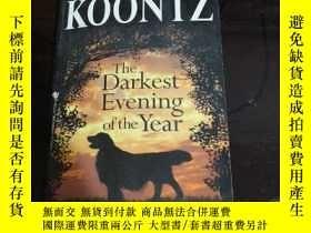 二手書博民逛書店英文原版罕見The Darkest Evening of the