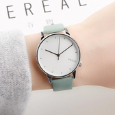 韓版時尚潮流簡約小清新薄荷綠創意文藝森女系防水男女中學生手錶 聖誕裝飾8折
