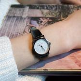 時尚手錶《剛好》韓版文藝復古數字刻度男女手錶情侶錶石英森繫皮帶腕錶