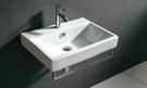 【麗室衛浴】洗臉盆 英國 LIVING 2590 方型 台上盆