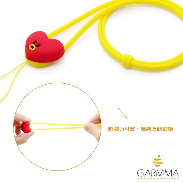 King*Shop~GARMMA BT21防彈少年團 硅膠創意長款可愛掛脖掛繩手機鏈防丟掛件