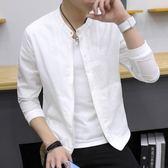 防曬衣男秋季2017新款韓版夾克修身 流外套男士棒球服春秋薄褂子