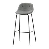 華爾斯吧椅(灰)(21CM/1078-6)/H&D東稻家居