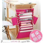 大容量學生書桌側邊掛袋 桌面整理收納袋