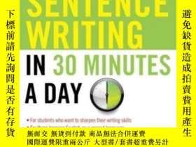 二手書博民逛書店Better罕見Sentence Writing In 30 Minutes A DayY255562 Cam