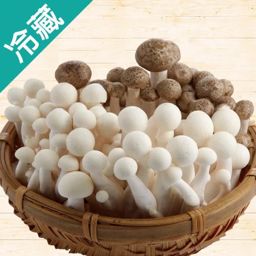 【有機】熱銷鴻喜菇美白菇(100g±5%/包) 【愛買冷藏】