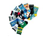[韓風童品](3雙/組)出口日本工程車純棉男童襪 工程車 汽車圖案中童襪 寶寶襪 兒童中筒襪子