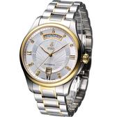 【寶時鐘錶】依波路 E.BOREL 布拉克系列機械腕錶 GB7350W-2599