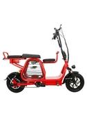 電動車 電動車迷你折疊電動自行車小型滑板車男女代步親子助力電瓶車 莎瓦迪卡