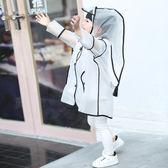 兒童雨衣寶寶女童男童透明雨披1-3幼兒園小童學生2-6韓版可愛雨衣 居享優品