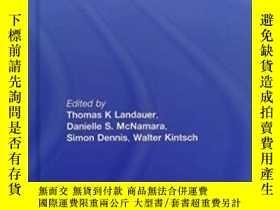 二手書博民逛書店Handbook罕見Of Latent Semantic AnalysisY364682 Thomas K.