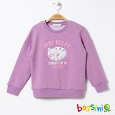 刷毛厚棉上衣03粉紫-bossini女童