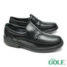 【GOLF】手工氣墊紳士休閒鞋 黑色(G...