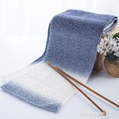 黛青 織圍巾毛線手工編織diy棉線材料包段染花式線粗毛線團送男友 Cocoa
