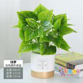 仿真花盆 北歐仿真植物裝飾創意小擺件客廳桌面盆栽家居室內假綠植盆景 22色