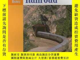 二手書博民逛書店The罕見Transcontinental Railroad (Landmark Events in Americ