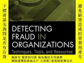 二手書博民逛書店Detecting罕見Fraud in Organizations: Techniques, Tools, and