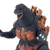 哥吉拉 BANDAI 代理版 特攝 Movie Monster系列 燃燒紅蓮哥吉拉 軟膠公仔 16760