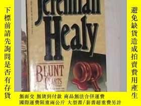 二手書博民逛書店《罕見Blunt Darts 》Jeremiah Healy 著