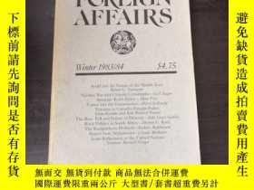 二手書博民逛書店Foreign罕見Affairs (Winter 1983 84
