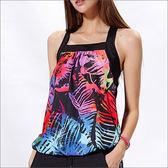 印花寬型二合一TA615-百貨專櫃品牌 TOUCH AERO 瑜珈服有氧服韻律服