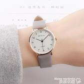 手錶 手錶女ins小眾設計簡約氣質復古文藝防水小巧女生女款初高中學生【618 購物】