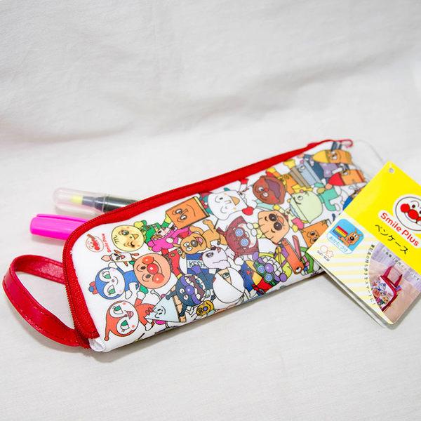 麵包超人 防水 擴充 筆袋 可掛包包 日本帶回 設計貼心