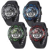 JAGA 捷卡 時尚運動錶 多功能電子錶 運動錶 女錶/男錶/中性錶/手錶 M997 (四色可選)