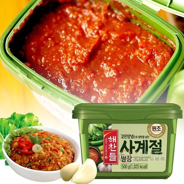 韓國 CJ 豆瓣醬 拌飯醬 生菜沾醬500g [KO8801007052854] 千御國際